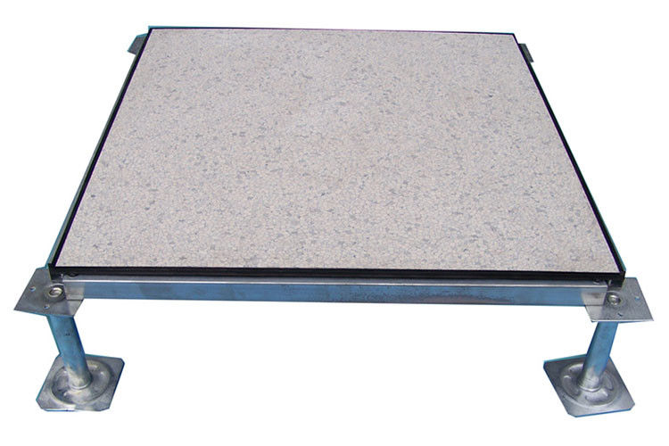 Fire - Proof Raised Access Floor Tiles , Anti Static Vinyl Raised Floor